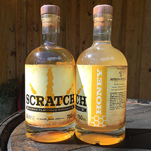 SCRATCH Honey Flavored Corn Whiskey