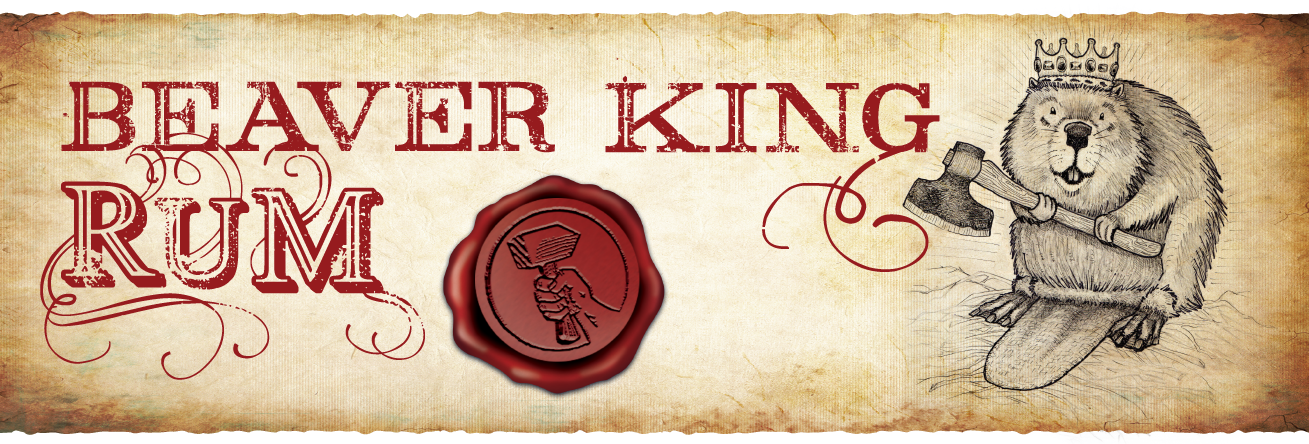 Beaver King Rum by Springfield Distillery