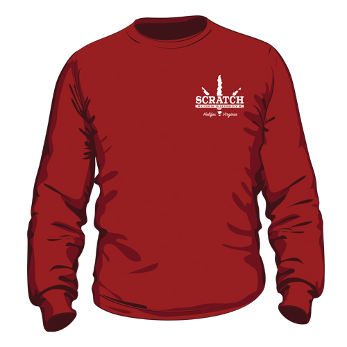 Scratch Long Sleeve Tee Front