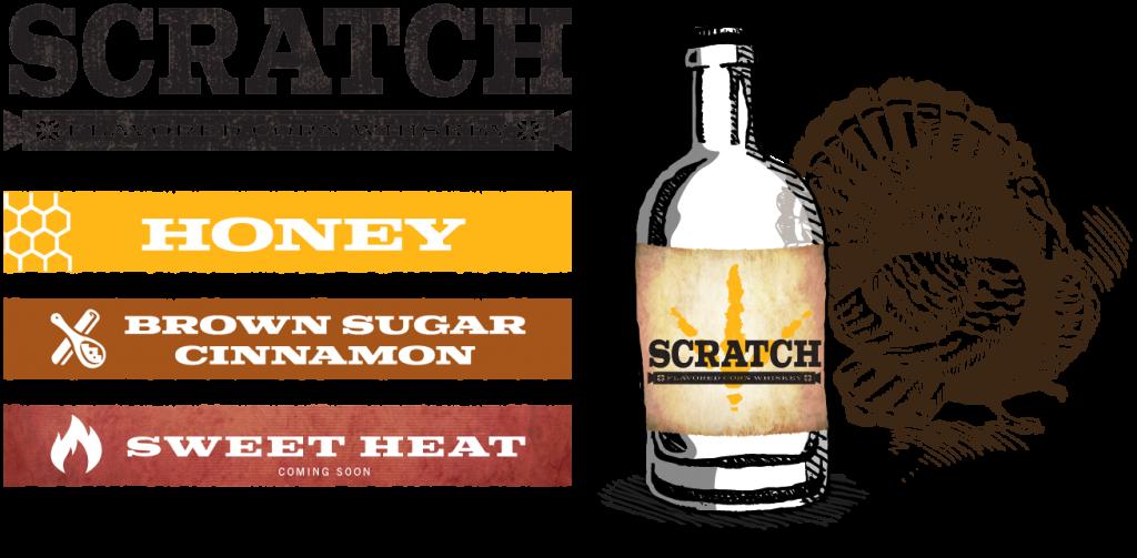 Scratch Flavored Corn Whiskey by Springfield Distillery in Halifax VA