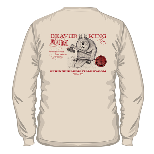 Beaver King Rum Shirt
