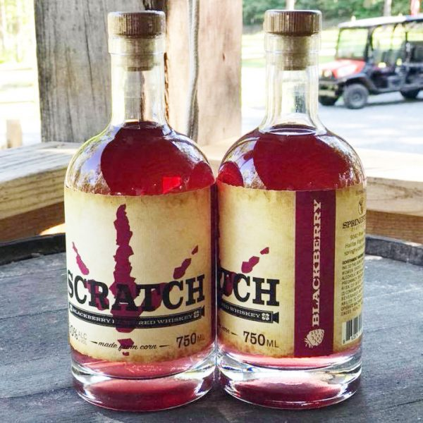 SCRATCH Blackberry Flavored Corn Whiskey