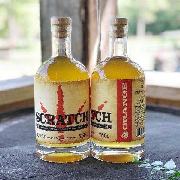 SCRATCH Orange Flavored Corn Whiskey