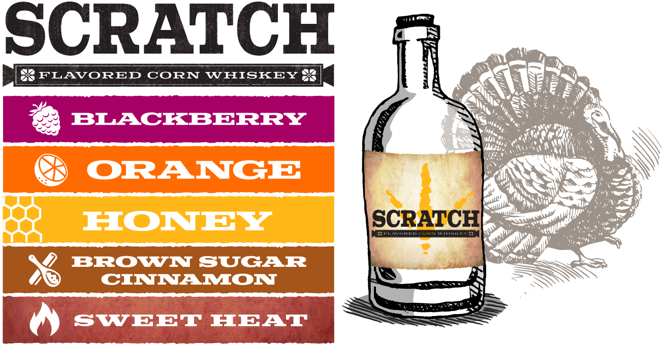 Scratch Flavored Corn Whiskey by Springfield Distillery in Halifax VA