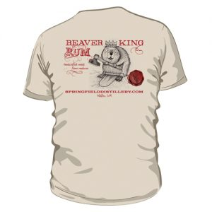 Beaver King Rum Short Sleeve Shirt