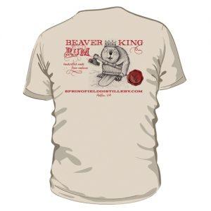 Beaver King Short Sleeve Back