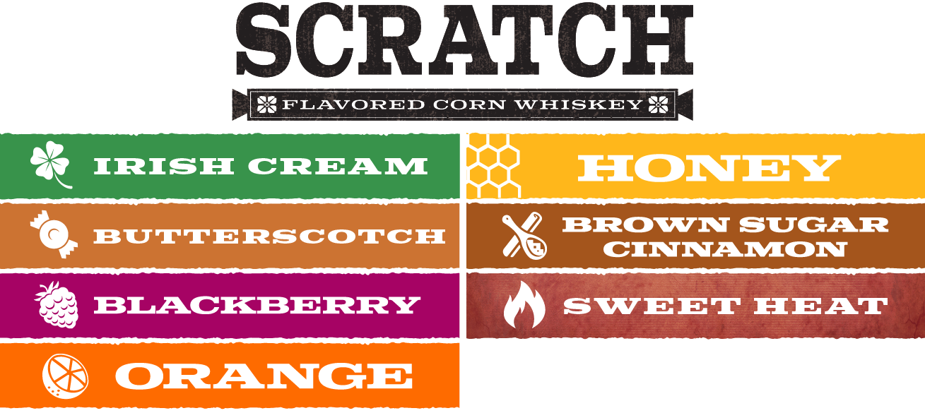 Scratch Flavored Corn Whiskey