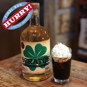 SCRATCH Irish Cream Flavored Whiskey
