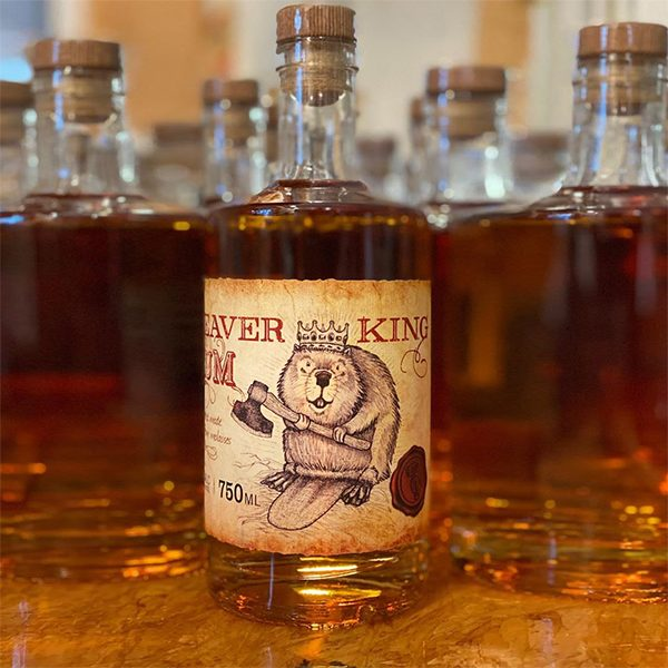 Springfield Distillery Beaver King Rum