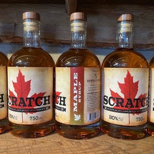 SCRATCH Maple Syrup Flavored Whiskey