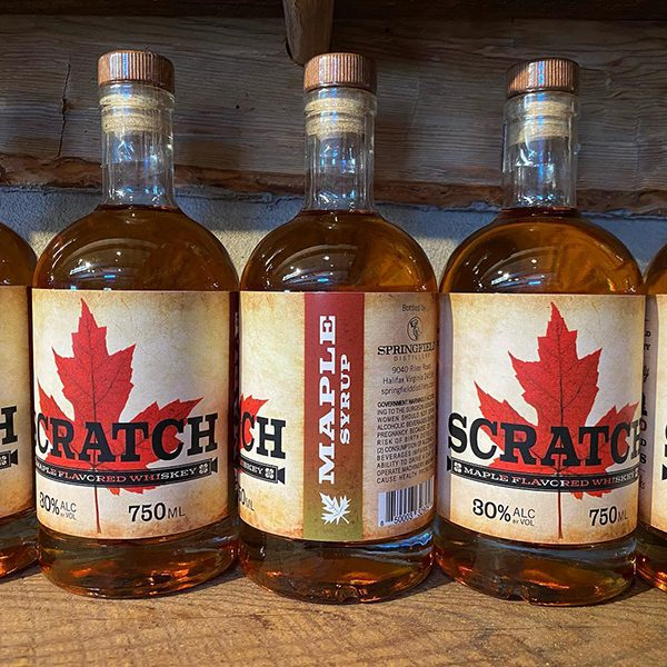 SCRATCH Maple Syrup Whiskey